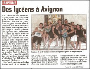 Festival Avignon 2
